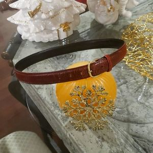 🎈Hp DIOR VINTAGE LEATHER BELT